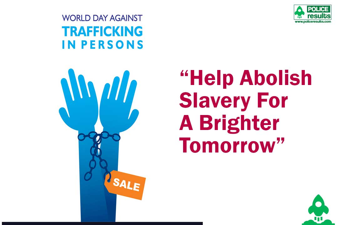"""Help Abolish Slavery For A Brighter Tomorrow"""