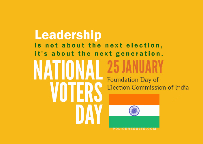(25 January) National Voters' Day