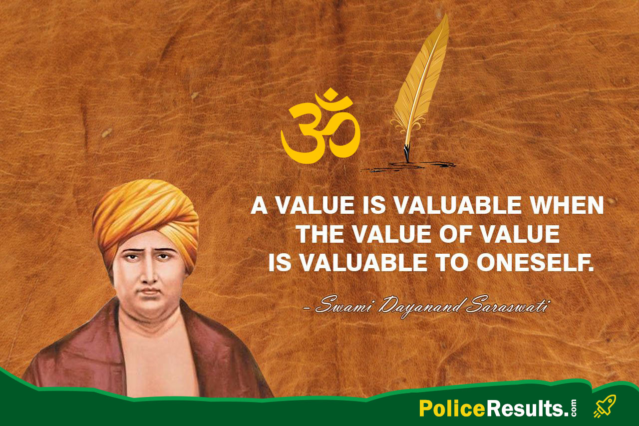 A value is valuable when the value of value is valuable to oneself