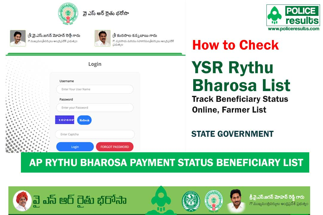 AP YSR Rythu Bharosa List 2020 : Track Beneficiary Status Online, Beneficiary List 1st, 2nd, Farmer List
