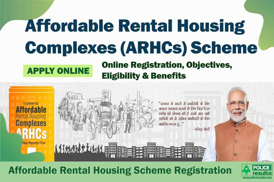 Affordable Rental Housing Scheme: Registration at arhc.mohua.gov.in