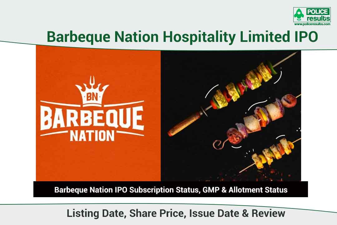 [Live Updates] Barbeque Nation IPO Subscription Status, GMP & Allotment Status: COMPNAMEENG IPO Listing Date, Share Price, Issue Date & Review