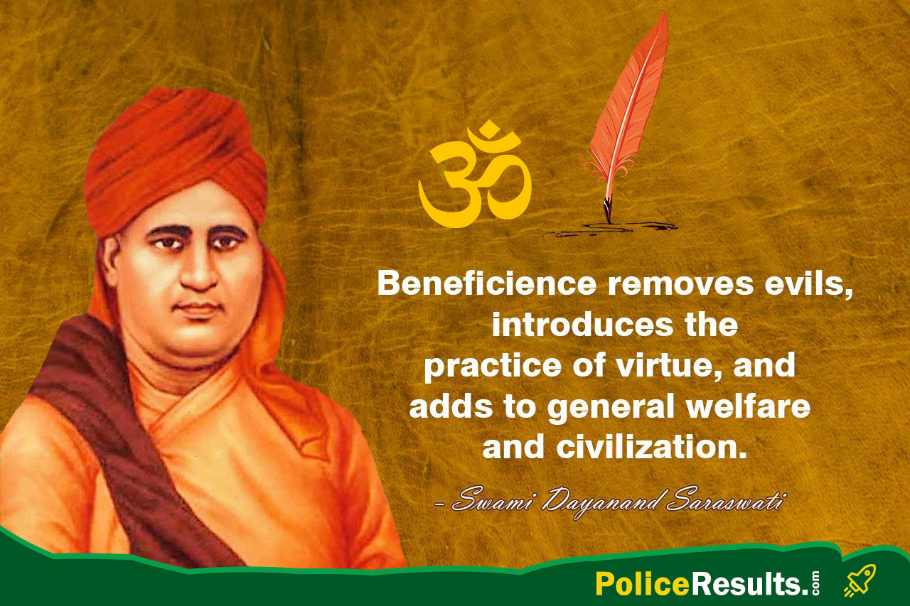 Beneficience removes evils, introduces the practice of virtue, and adds to general welfare and civilization