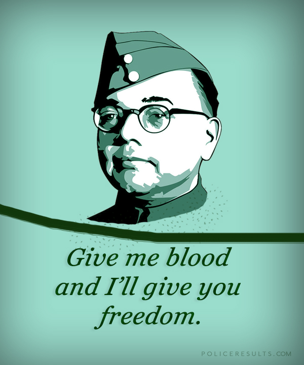 Best Quotes By Subhas Chandra Bose