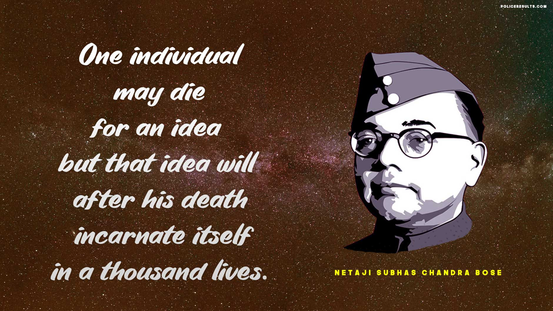Best Slogans of Netaji Subhas Chandra Bose