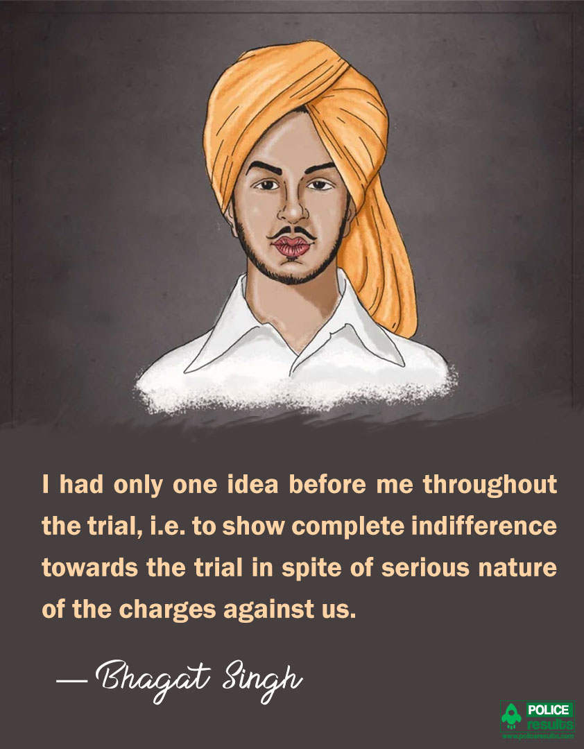 Bhagat Singh Quotes on Nature
