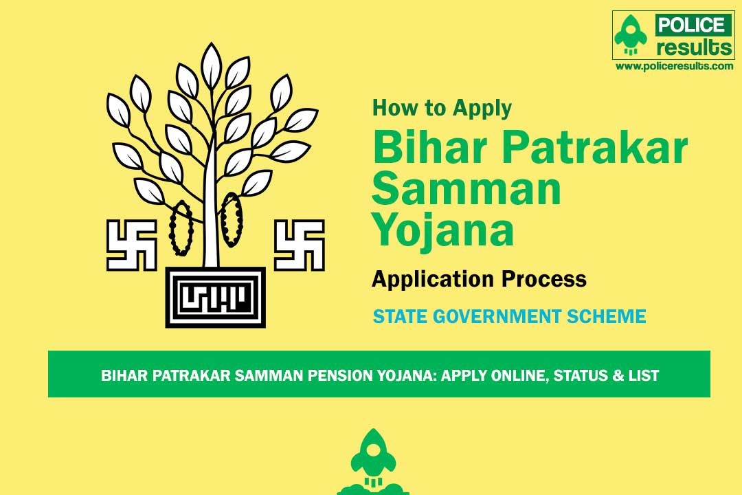 Bihar Patrakar Samman Pension Yojana: Apply Online, Status & List