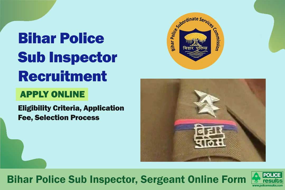 Bihar Police Sub Inspector, Sergeant Online Form 2020 – 2213 Posts (Last Date: 24 Sep)