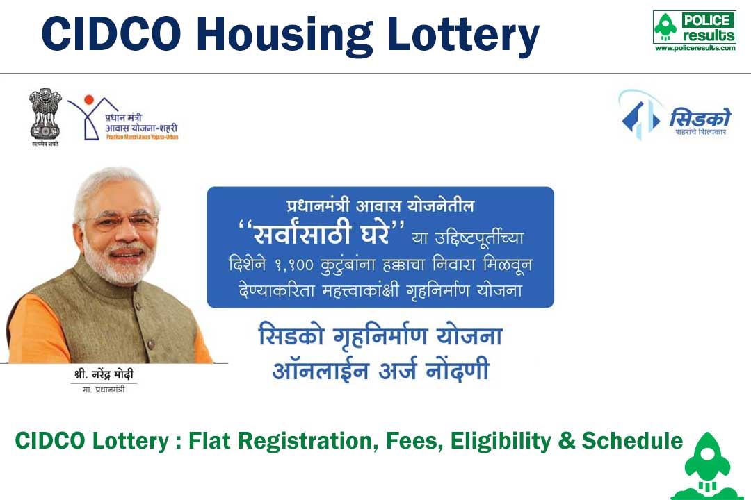 Cidco Lottery 2020 : Housing Scheme Registration Form, Flat Price, Fee, Eligibility & Schedule