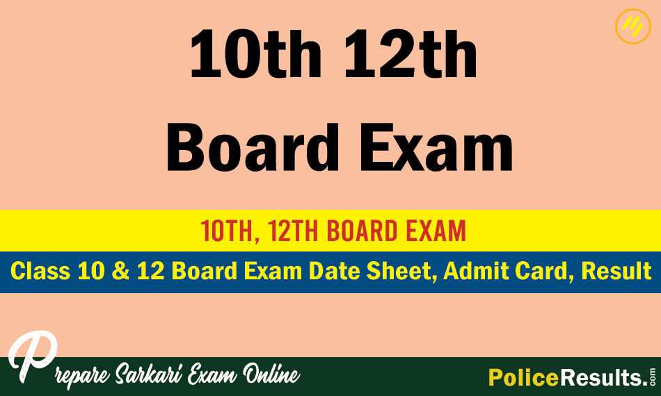 10th 12th Board Exam 2020 – CBSE, ICSE/ISC and State Board Exam Date Sheet, Admit Card, Results, Statistics & Analysis and Toppers List