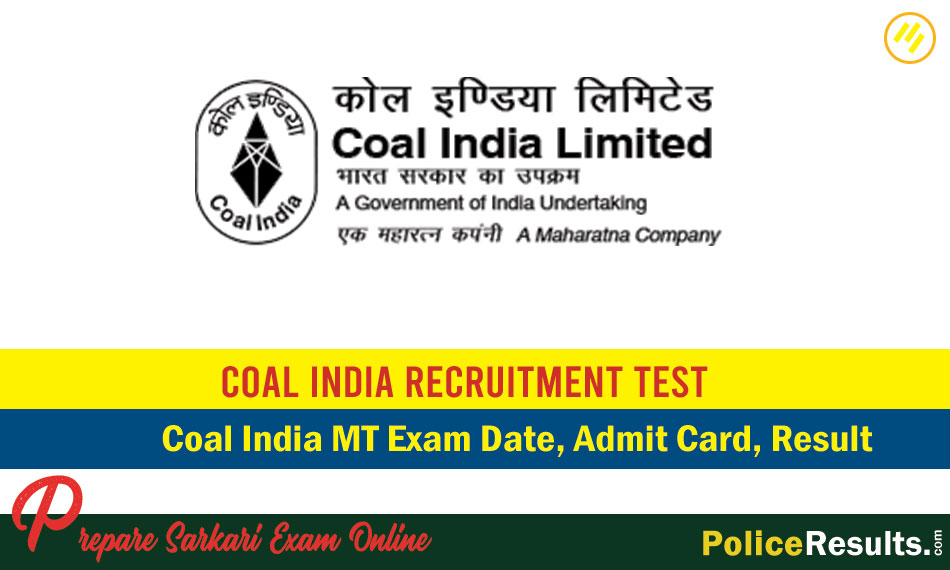 CIL MT Admit Card 2020 (CBT) – Coal India Management Trainee Admit Card 2020 – Call Letter Download Direct Links