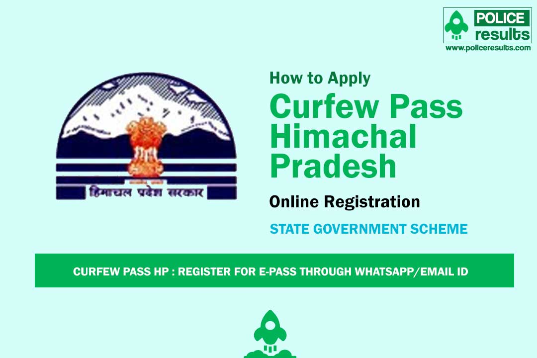 Curfew Pass Himachal Pradesh: Register for e-Pass through Whatsapp/Email ID