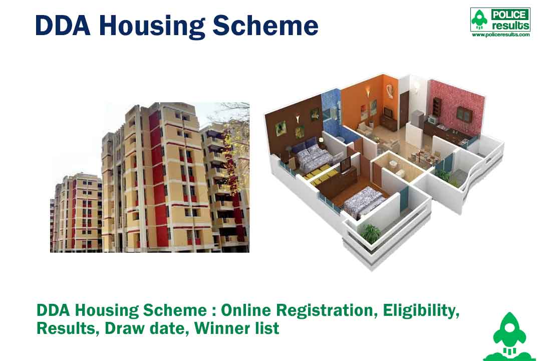 DDA Housing Scheme 2020 : Online Registration, Eligibility, Results, Draw date, Winner list