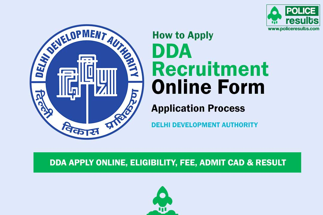 DDA Recruitment 2020 for JSA, Steno, Mali, SO, Patwari & other : 629 Posts, (Last Date: 22 April)