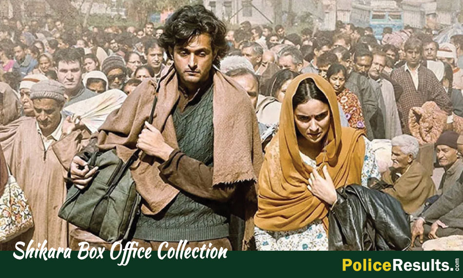 Shikara 1st Day Collection | Today Box office Collection