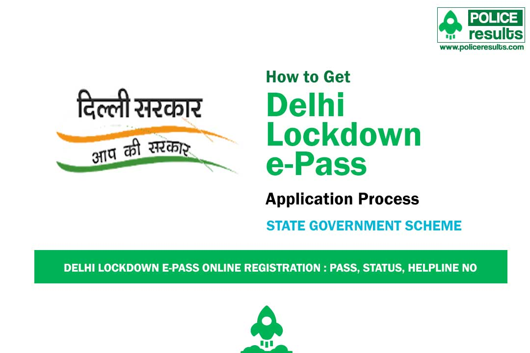 Delhi Lockdown E-Pass: Curfew e-Pass Online, Status & Helpline Number