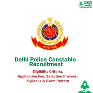 Delhi Police Constable Recruitment 2020 (5846 Vacancy) Online Application Form