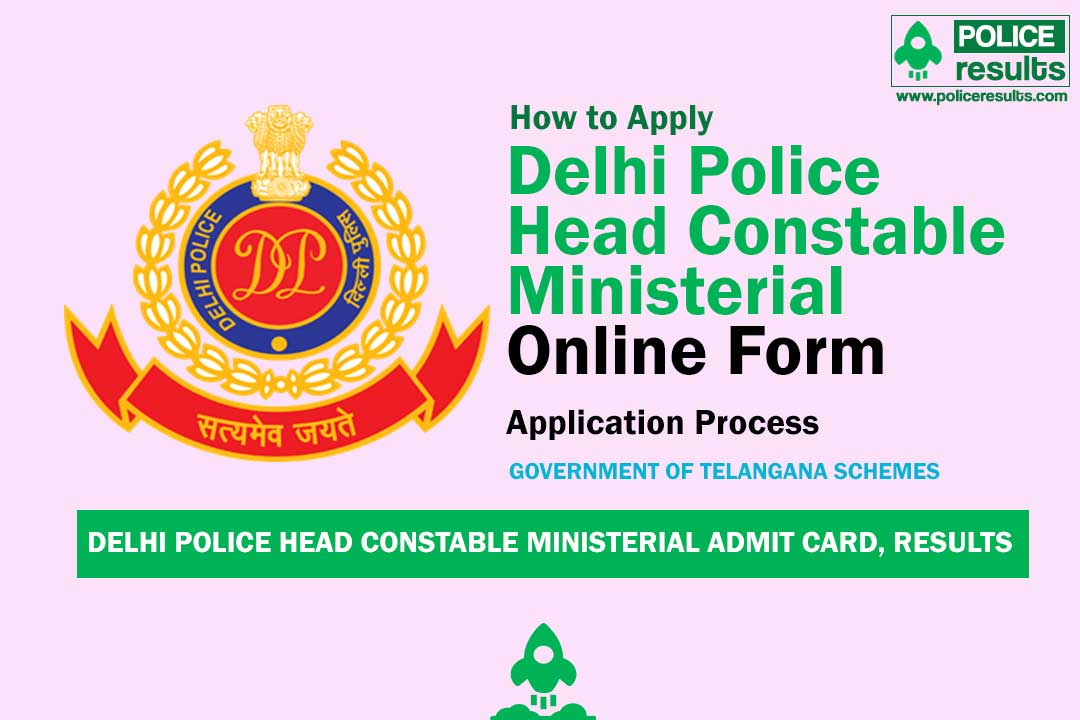 Delhi Police Head Constable Ministerial Admit Card