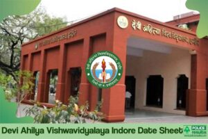 DAVV Time Table 2020 – Devi Ahilya Vishwavidyalaya Indore Date Sheet 2020 BA BSc BCom Revised