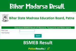 Download BSMEB Result of Wastania, Fauquania and Molvi exams