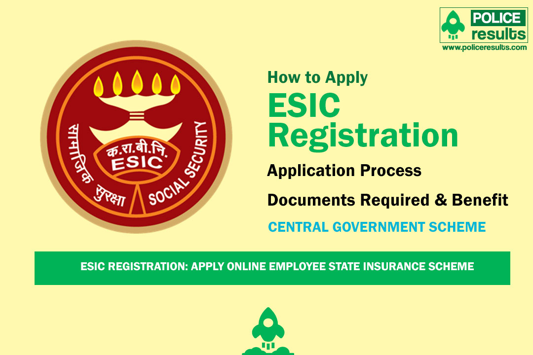 ESIC Registration: Apply Online Employee State Insurance Scheme