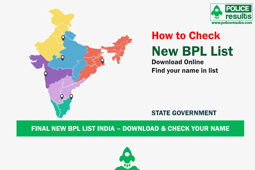 State Wise SECC 2011 Final BPL List India 2020 – Download & Check Your Name