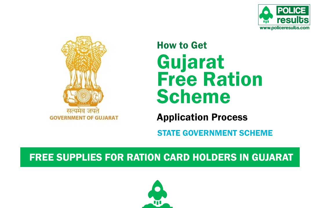 Free supplies for ration card holders in Gujarat