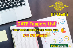 GATE Topper 2020 : GATE 2020 Toppers List with Name (Highest Marks)* Branch Wise