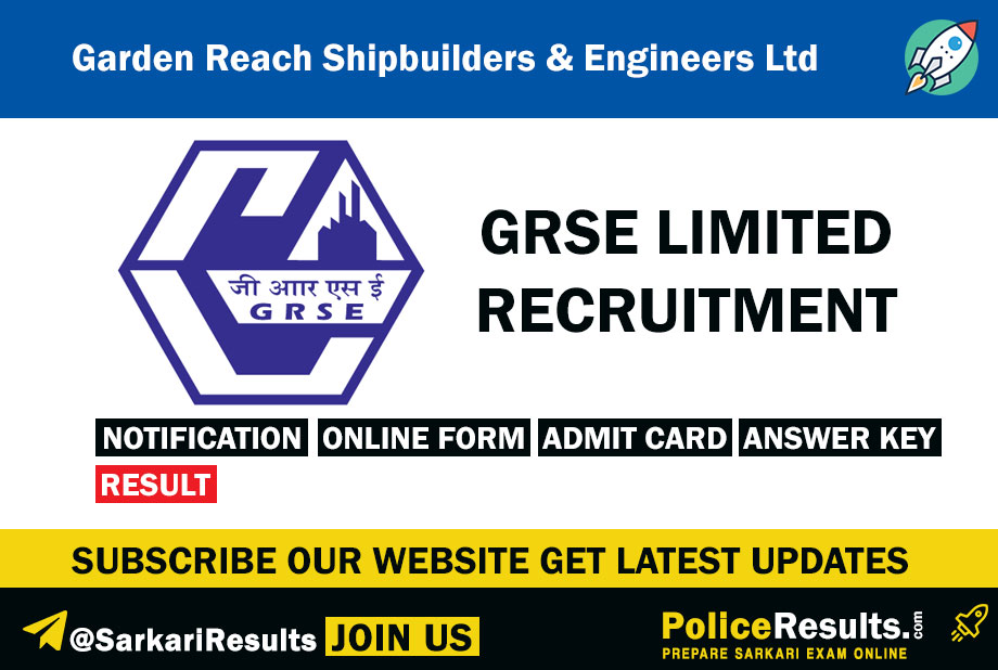 GRSE Limited Recruitment 2020 – Apply Online for 226 Apprentice Posts