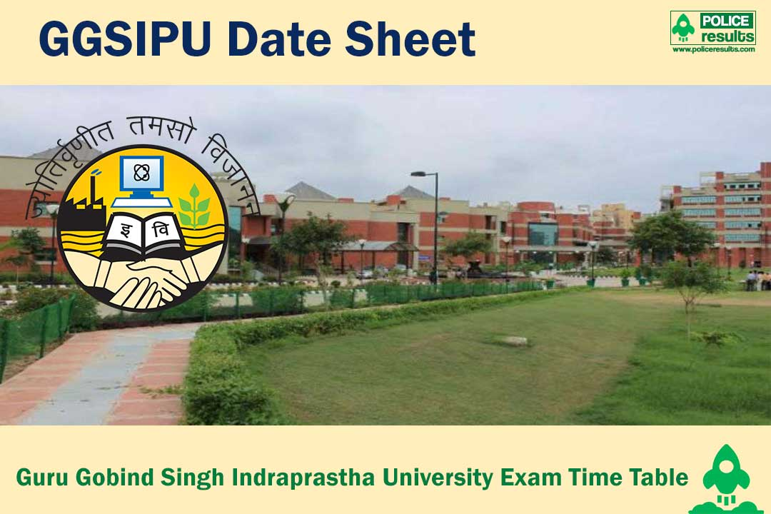 GGSIPU Date Sheet 2020 – Guru Gobind Singh Indraprastha University 2020 Exam Time Table