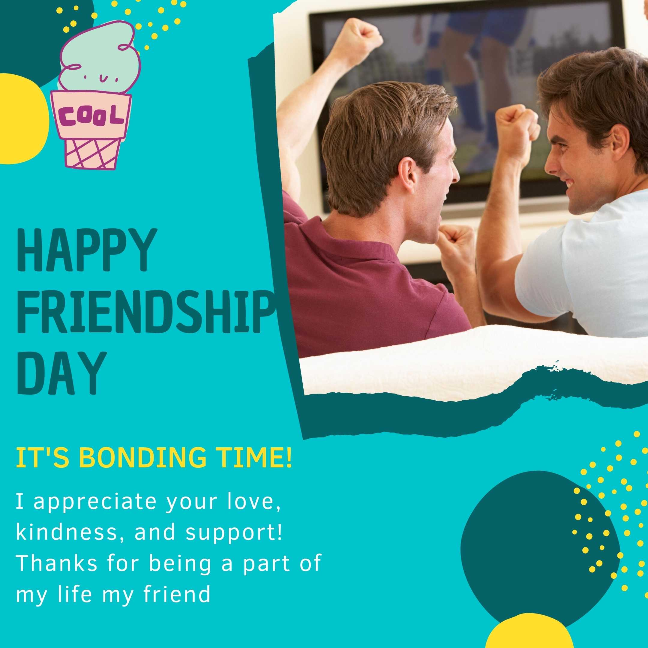 Happy International Friendship Day Whatsapp Status
