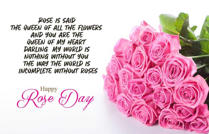 Happy Rose Day Wishes, Images, Quotes, Pic, Shayari, Status for My Love