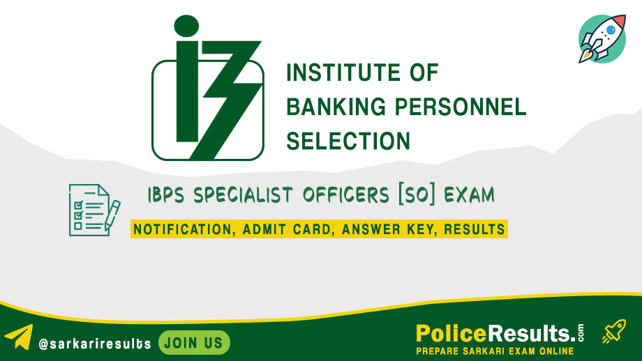 IBPS SO Admit Card 2020 – Specialist Officer Interview Call Letter Download