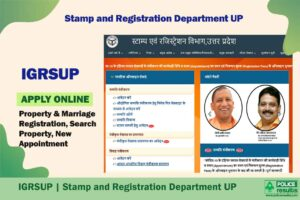IGRSUP | Stamp and Registration Department UP: Property & Marriage Registration, Search Property, New Appointment