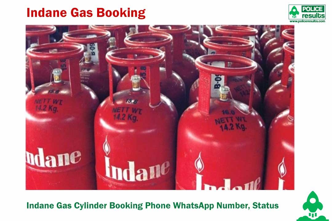 Indane Gas Cylinder Booking Phone WhatsApp Number, Status