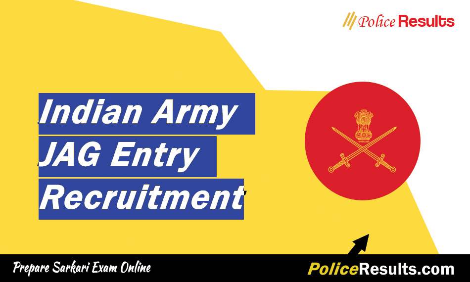 Indian Army JAG Entry Recruitment 2020 – JAG 25th Course Oct 2020 (08 Vacancy)
