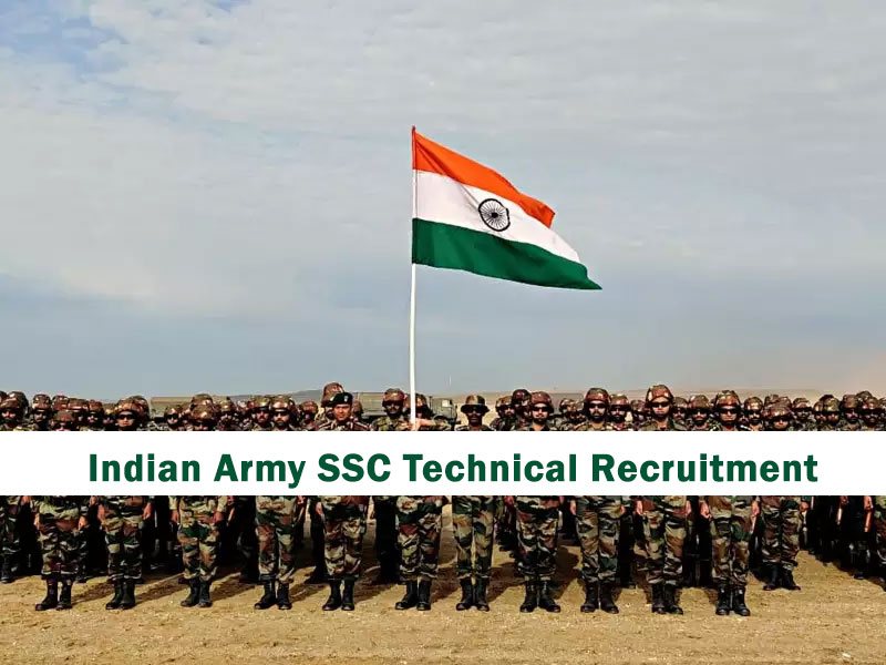 Indian Army SSC Technical Recruitment 2020 – 55 Men and 26 Women Technical Course (191 Vacancy) Online Form