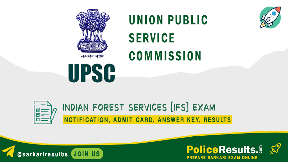UPSC IFS Notification 2020 – Indian Forest Services (IFS) Preliminary Examinations 2020 (90 Vacancy) Apply Online
