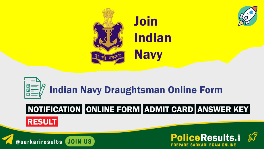 Indian Navy Draughtsman Recruitment 2020 – Group C