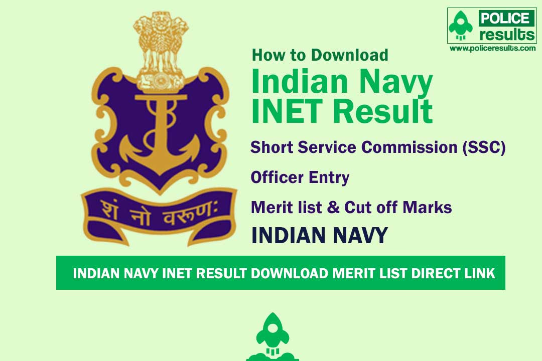 Indian Navy INET Result Download Merit List Direct Link