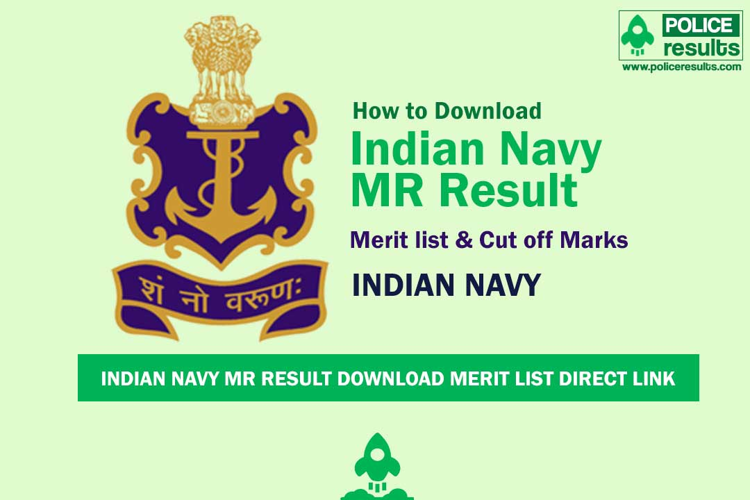 Indian Navy MR Result 2020