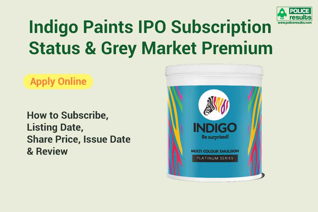 [Live Update] Indigo Paints IPO Subscription Status & Grey Market Premium: How to Subscribe, Listing Date, Share Price, Issue Date & Review