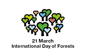 World Forestry Day International Day of Forests 21 March logo