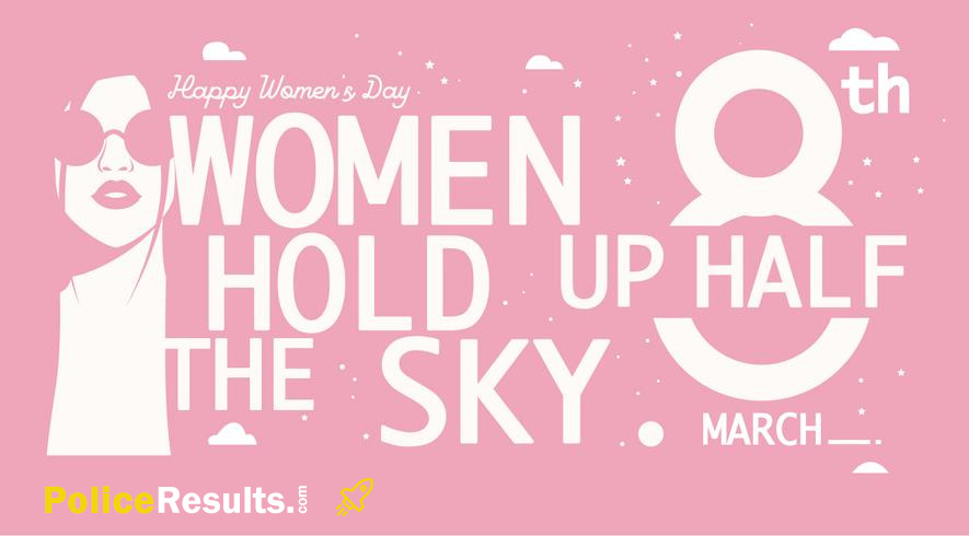 International Women's Day Quotes Wishes Status Slogan poster