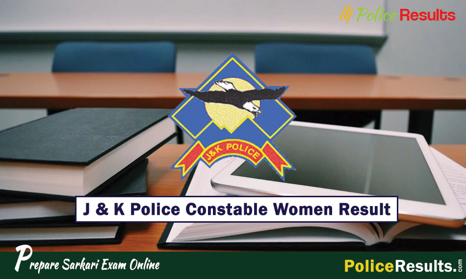 J & K Police Constable Result 2020 for PET & PST (Female)