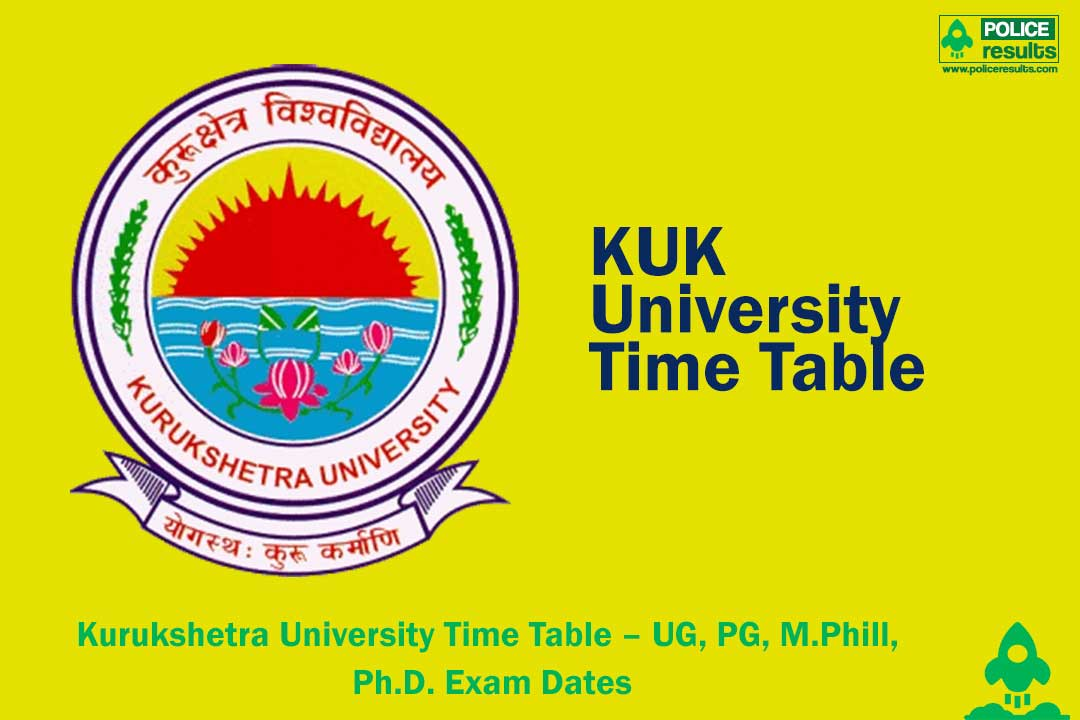 KUK University Time Table 2020 Theory Practical Date Sheet
