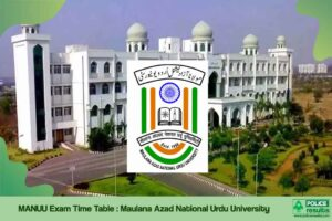 MANUU Exam Time Table 2020 MANUU UG PG Date Sheet