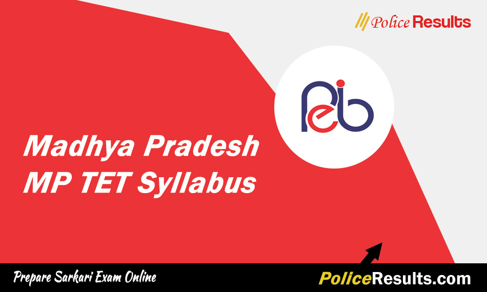MP Varg 3 Syllabus 2020 MP TET Primary Shikshak Exam Pattern Download pdf in Hindi