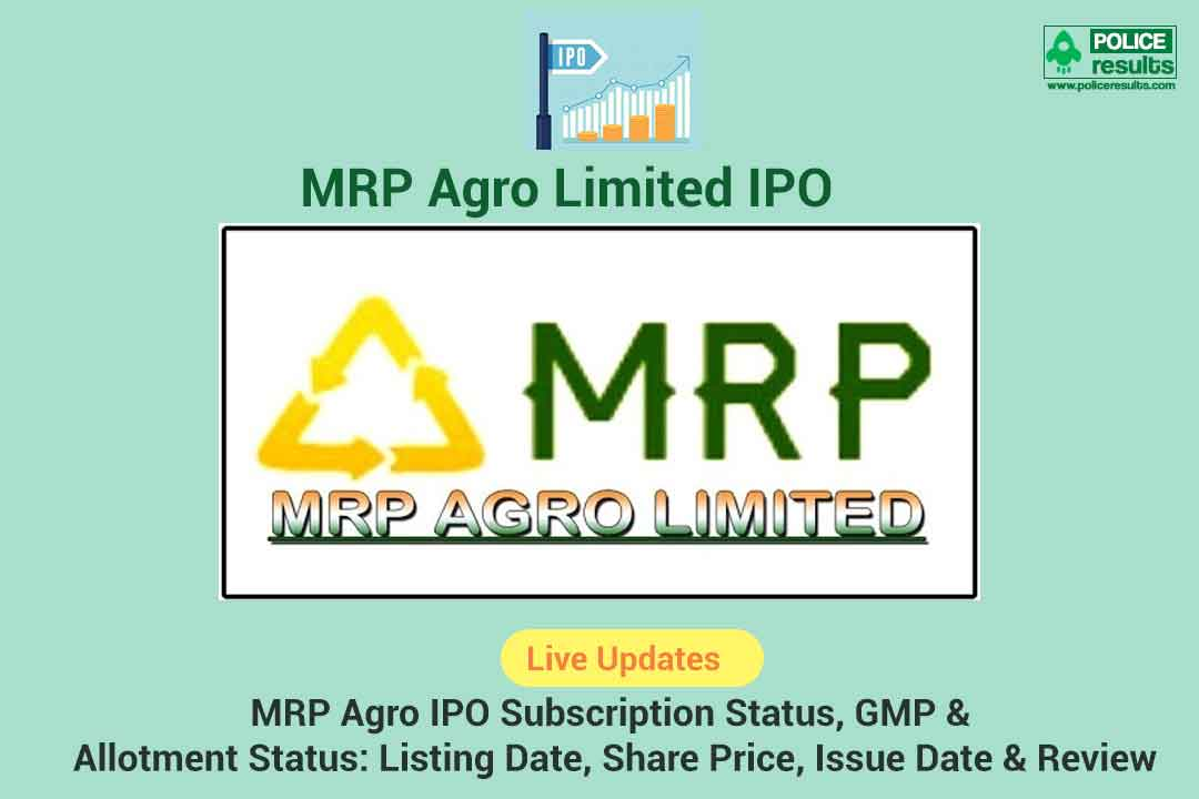 MRP Agro Ltd IPO Review: MRP Agro Ltd IPO Date, issue price, total share capital, ipo issue size, promoters holding, application, allotment status and much more on Financial Express.