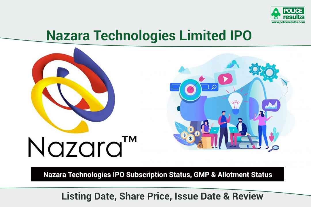 [Live Updates] Nazara Technologies IPO Subscription Status, GMP & Allotment Status: COMPNAMEENG IPO Listing Date, Share Price, Issue Date & Review